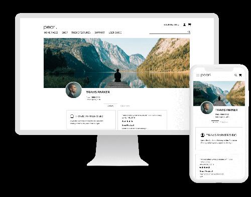 Magento 2 User Profile.