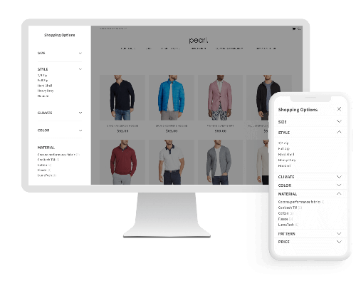 Magento 2 Layered Navigation Ajax Filter with Multi Select.
