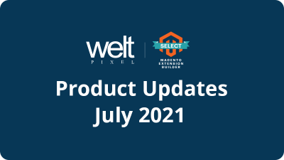 Product Updates and New Releases - July 2021
