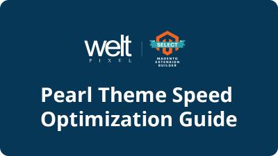 Magento 2 Speed Optimization: Pearl Theme & Core Web Vitals
