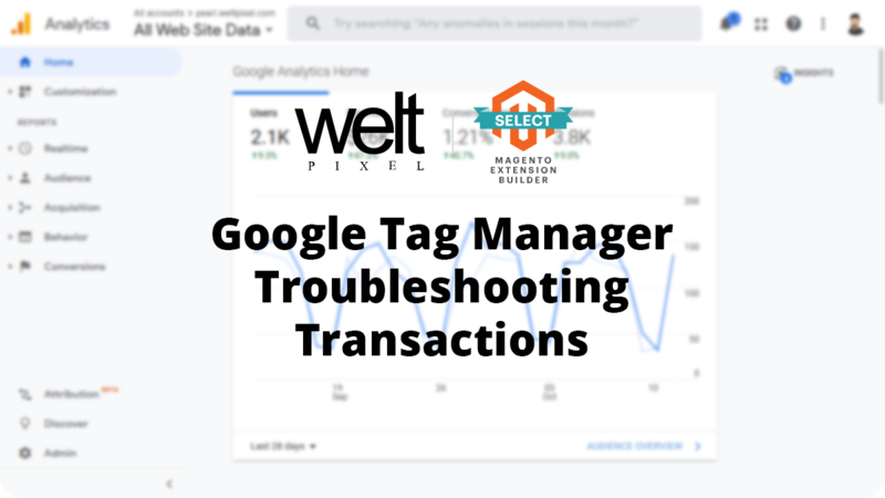 Magento 2 Google Tag Manager - Missing transactions/revenue