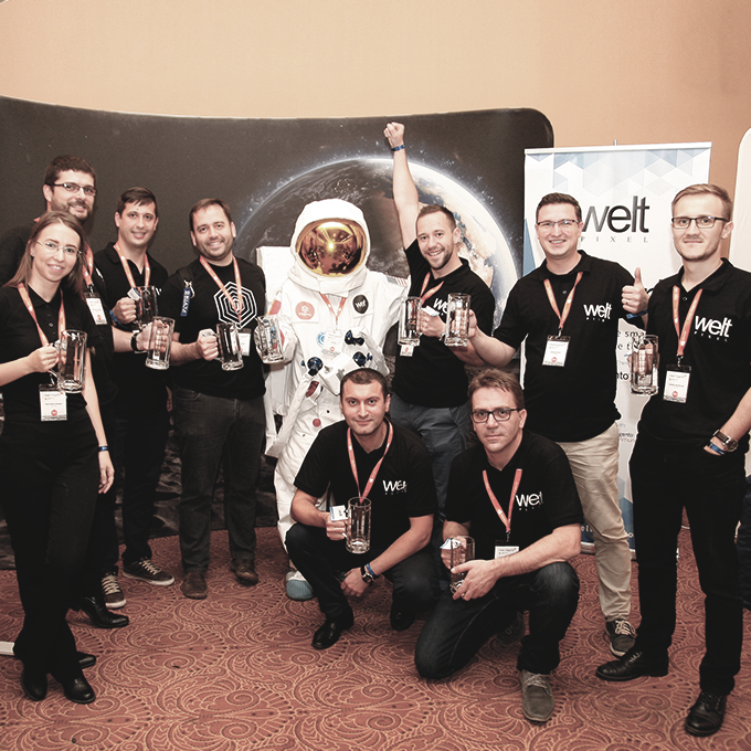 WeltPixel Team at Meet Magento