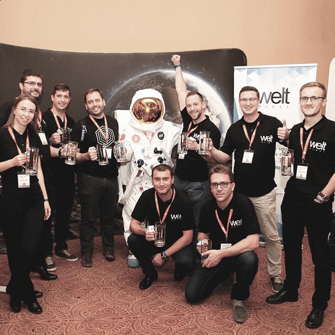 WeltPixel Team at Meet Magento