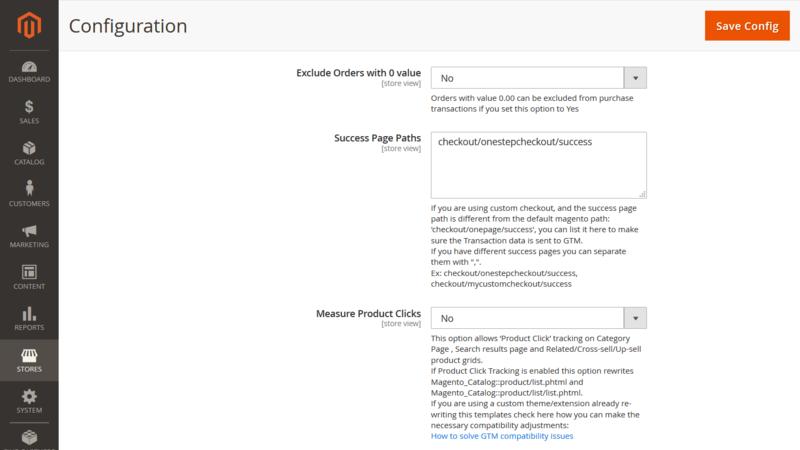 WeltPixel GTM Checkout URL