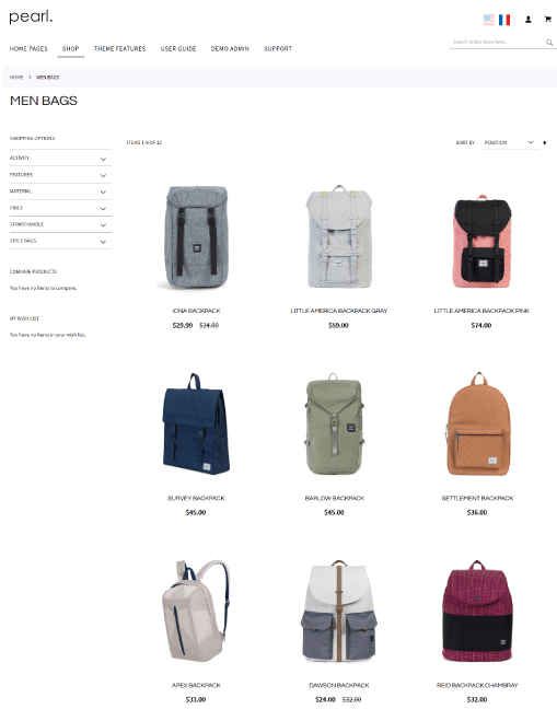 Magento Category Page - 3 COLUMNS + SIDEBAR
