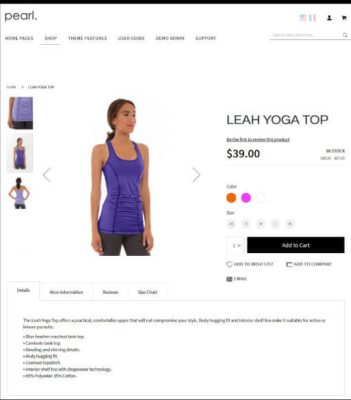 Magento Product Page V1