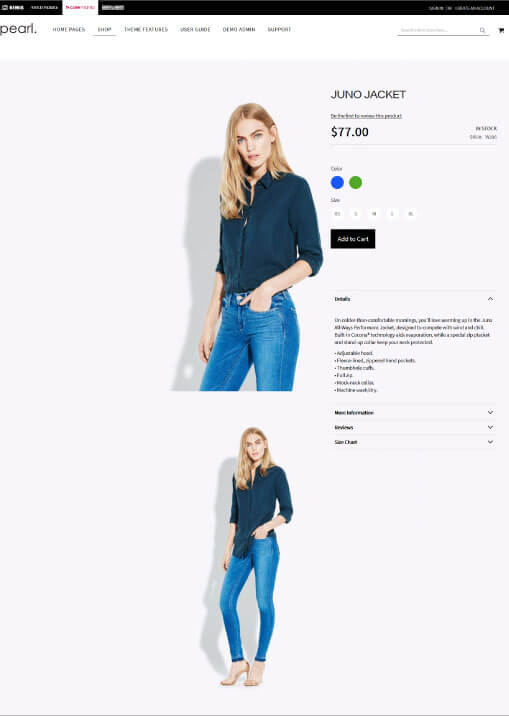 Magento Product Page V4