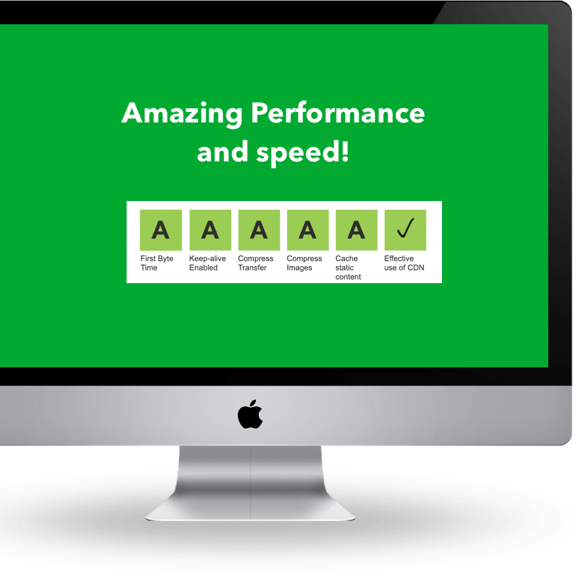 Stack. Framework and Extension Pack page Magento speed test page.