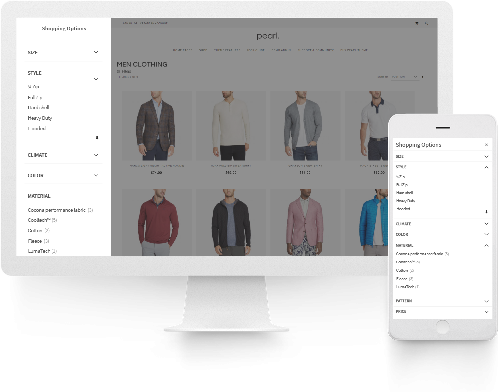 Magento 2 Layered Navigation Ajax Filter with Multi Select