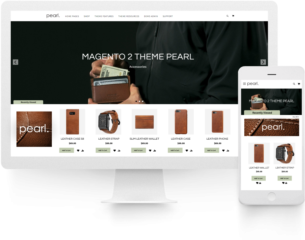 MAGENTO 2 ADVANCED RECENTLY VIEWED PRODUCTS BAR.