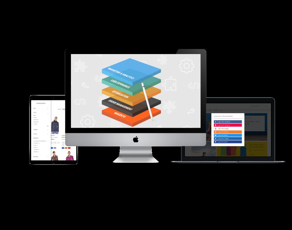 Stack. Framework for Magento 2 Commerce - Essential Pack.