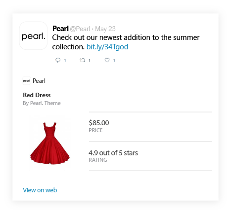 Magento 2 Rich Snippets Free Extension Twitter Cards