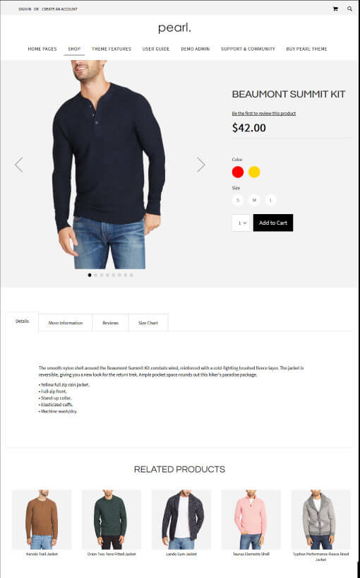 Magento Product Page V3