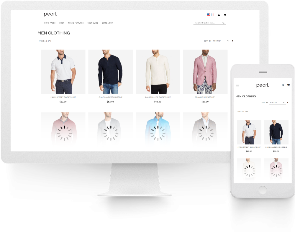 Magento 2 Category Sort By Extension upsell for Magento 2 Lazy Load Product Extension.