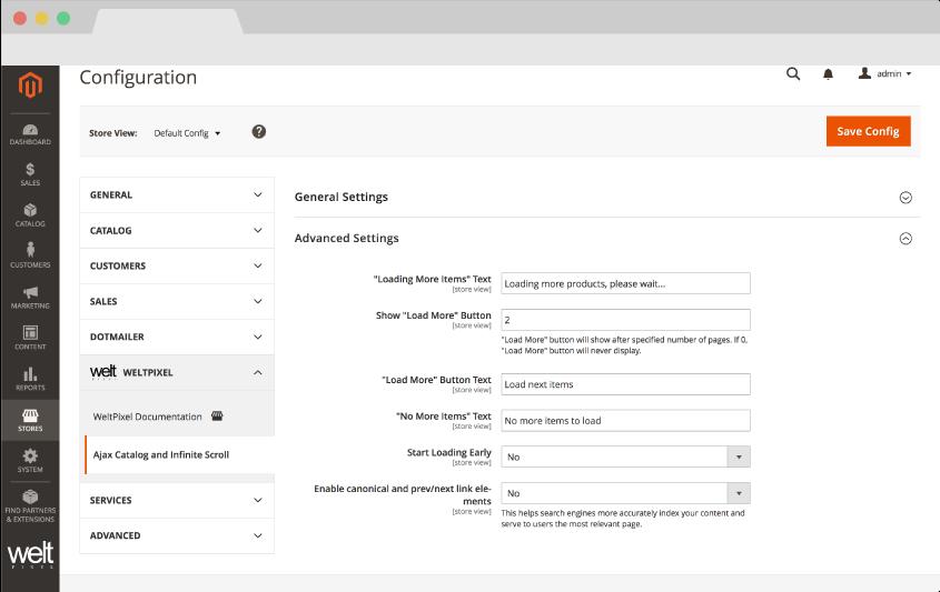 Infinite Scroll & Ajax Catalog Pagination for Magento 2